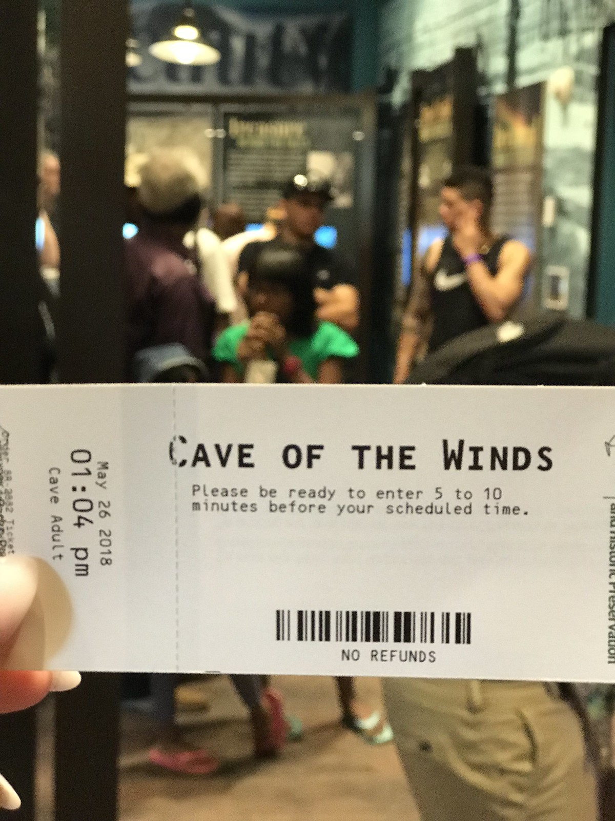 Cave of the winds ice cream