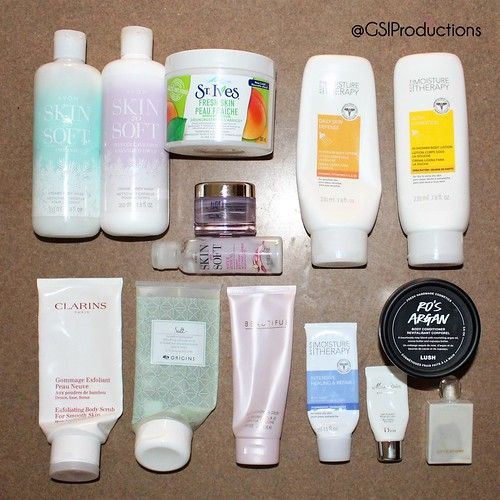 Body Care Empties Spring 2018