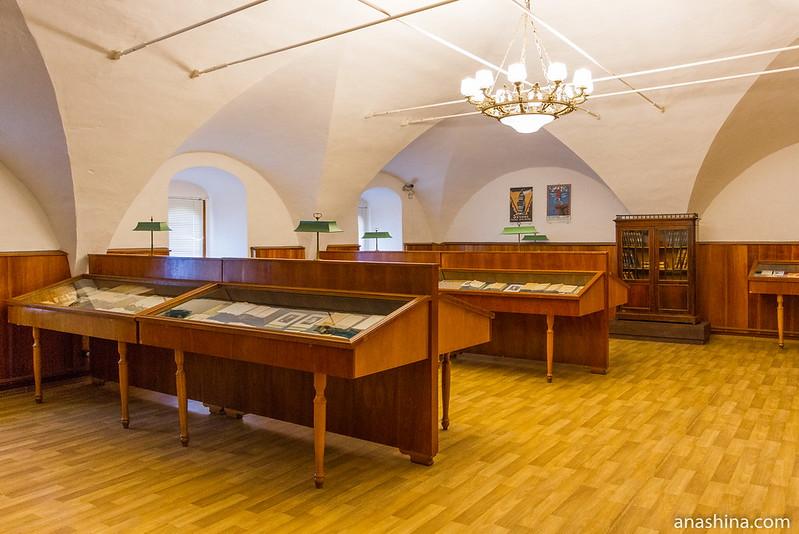 Экспозиция, посвященная книгам XIX - начала XX века