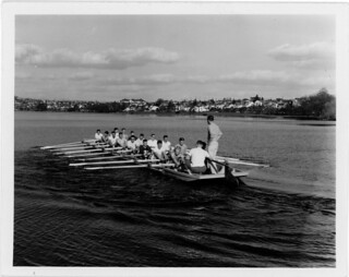 Rowers on Green Lake, 1959