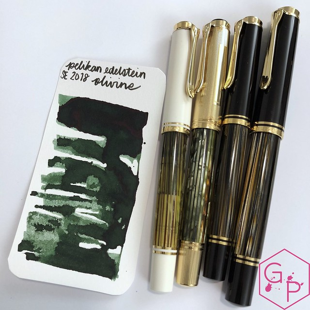 Pelikan Edelstein Olivine Ink Review @AppelboomLaren @Pelikan_World 5