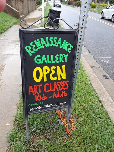 What I saw at the Gateway Open Studio Tour in Hyattsville and Mount Rainier, Maryland on May 19, 2018. #OST2018