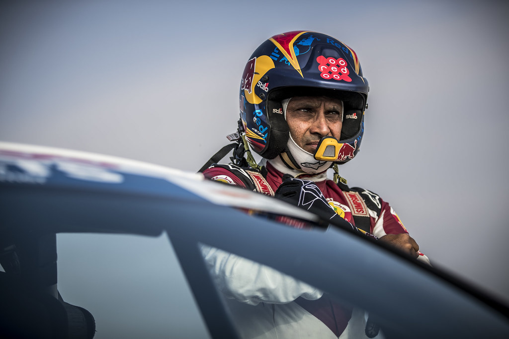 ALATTIYAH Nasser (QAT), BAUMEL Matthieu (FRA), NASSER ALATTIYAH, FORD FIESTA R5, portrait during the 2018 European Rally Championship ERC Cyprus Rally,  from june 15 to 17  at Larnaca, Cyprus - Photo Gregory Lenormand / DPPI