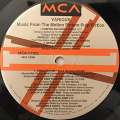 V.A.:PULP FICTION(LABEL SIDE-A)