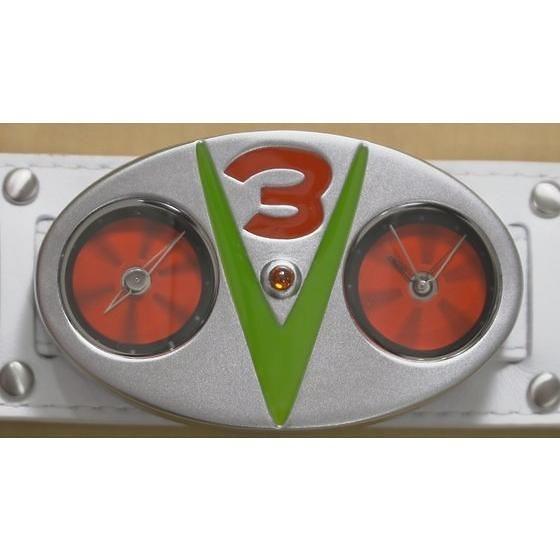 《假面騎士V3》變身腰帶造型手錶!仮面ライダーV3 変身ベルト型腕時計