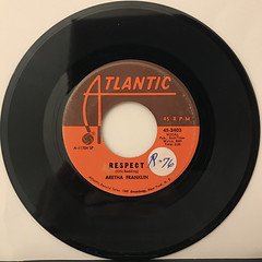 ARETHA FRANKLIN:RESPECT(RECORD SIDE-A)
