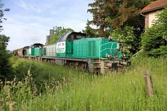 BB 60077 & 60064 arrivent au silo de Beauchery. - Photo of Beauchery-Saint-Martin