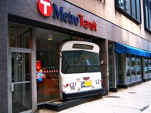 The Metro Transit Service Center on Marquette Avenue in Minneapolis.