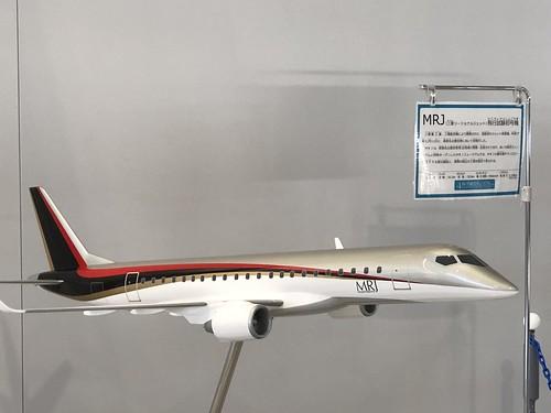 三菱 MRJ模型 IMG_0446