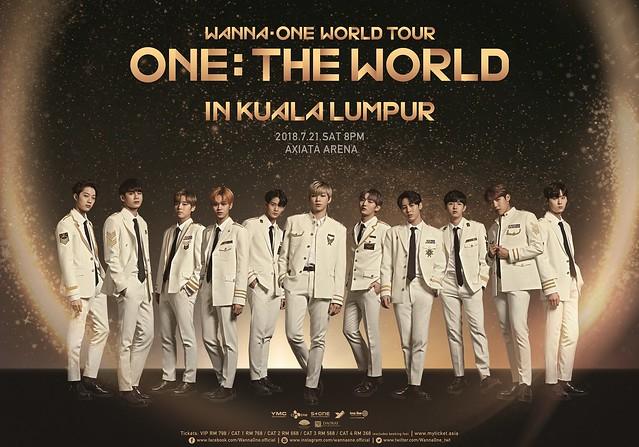 Wanna One World Tour in Kuala Lumpur
