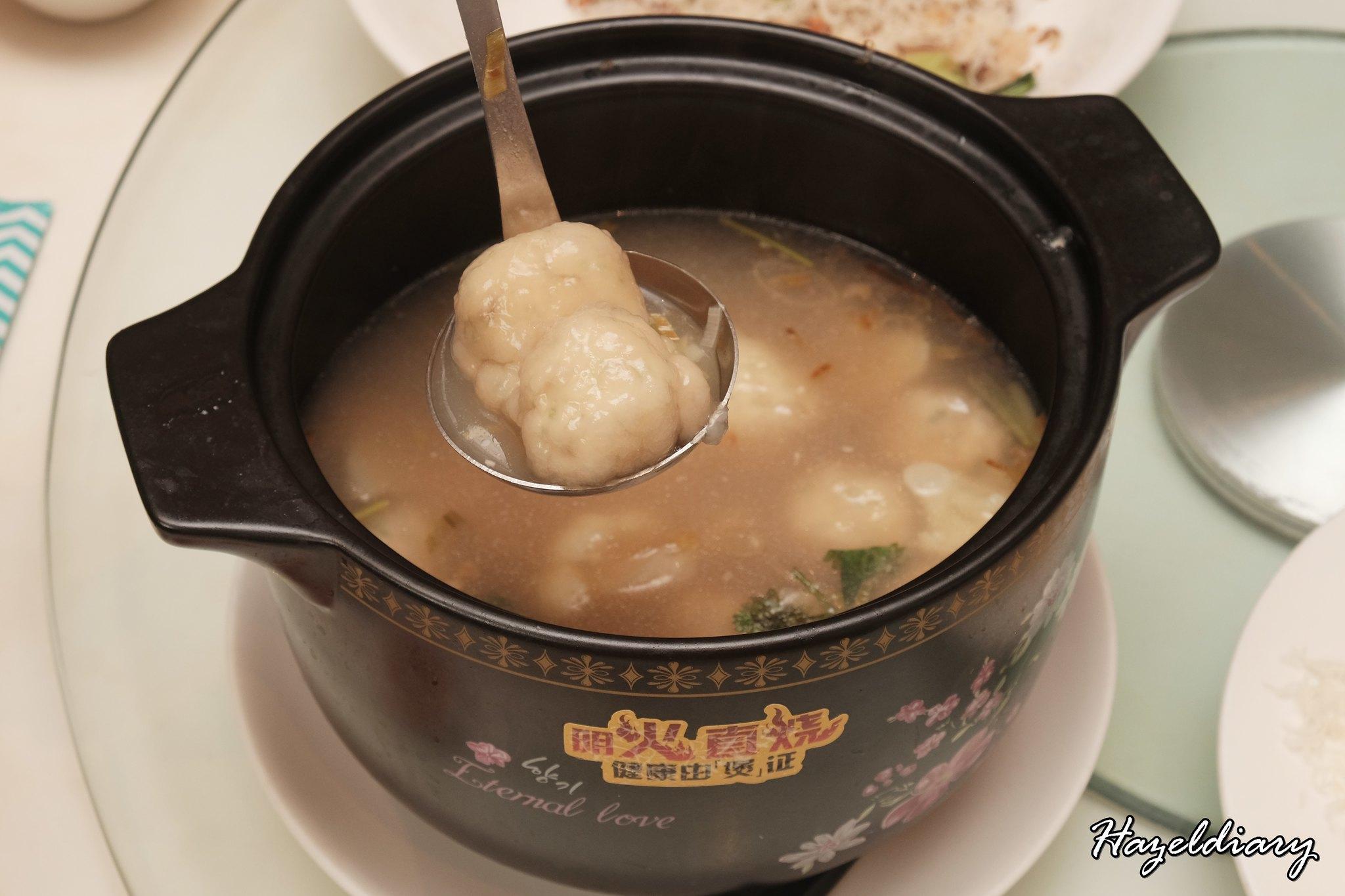 Putien-DUOTOU Clam Soup with Tofu Meatballs
