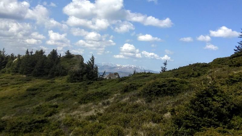 Ciucas Peak on spring