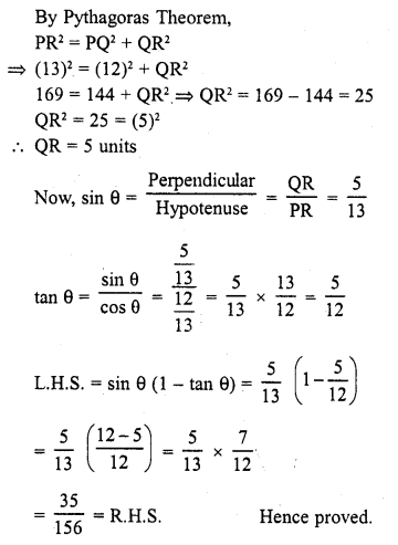 Learncbse.In Class 10 Chapter 5 Trigonometric Ratios