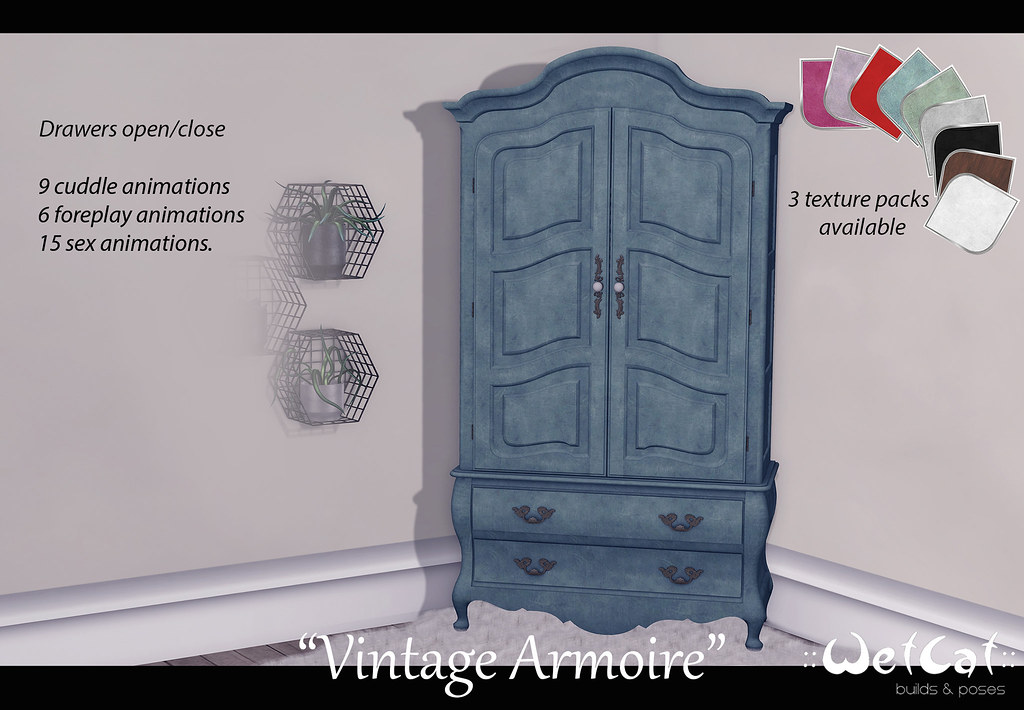 "::WetCat:: ""Vintage Armoire"""