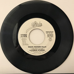 LOVEBUG STARSKI:HOUSE ROCKER(RECORD SIDE-A)