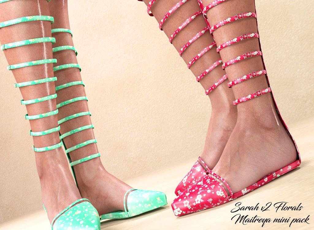 "Phedora.  for EQUAL10 Event- ""Sarah V2"" sandals- Maitreya ONLY"