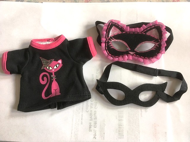 cute Halloween top and masks SD girl 7