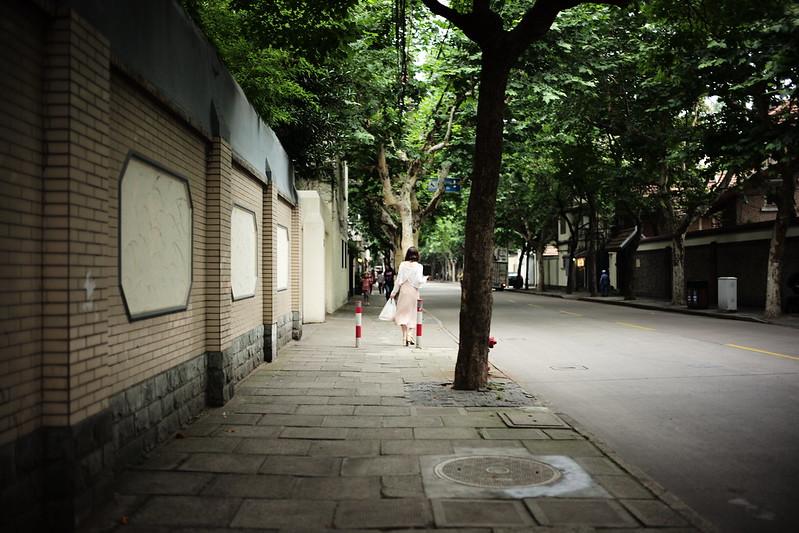 Shanghai street shot