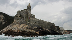 castle on point, Porto Venere