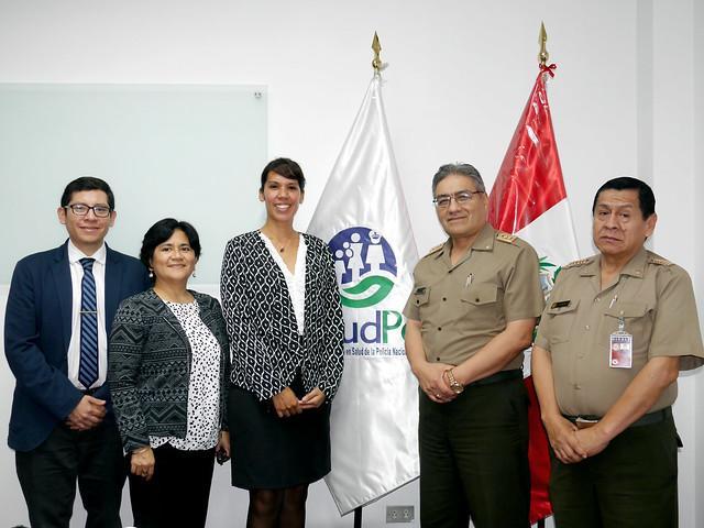 Dirección de Salud de Ejército recibió información de SALUDPOL sobre IAFAS pública