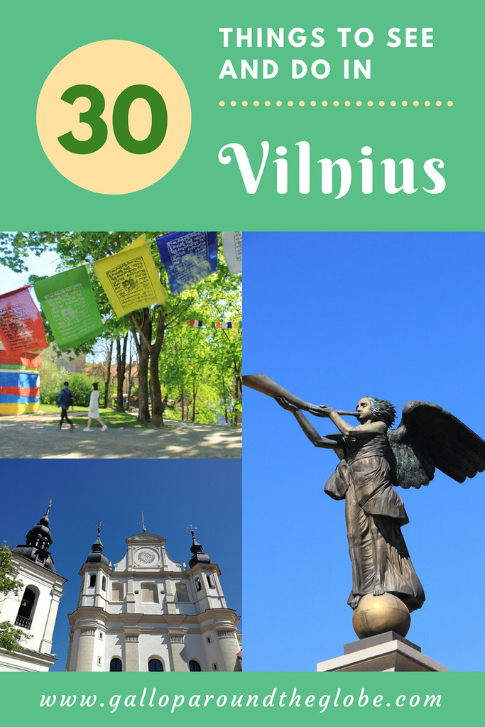 30 Things to See and Do in Vilnius for under €5 | Gallop Around The Globe