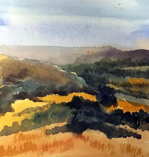 180603 View from Santa Teresa County Park, San Jose, CA