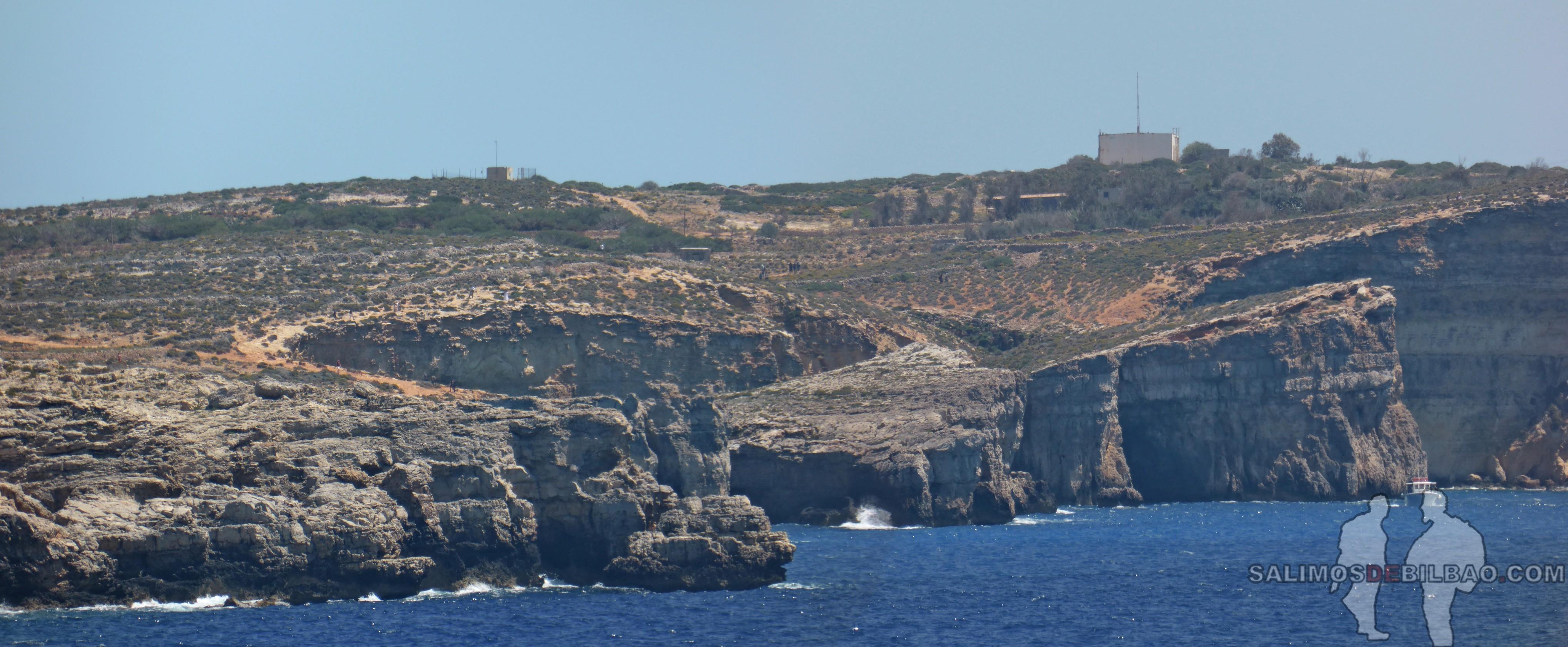 0610. Pano, Isla de Comino, Ferry de Gozo a Malta