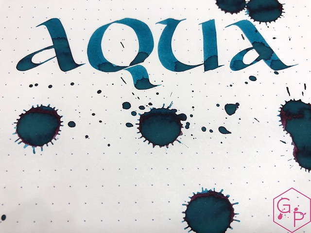 Robert Oster Aqua Ink Review @PhidonPens 11
