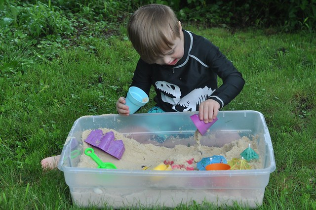 The Ultimate Beach Sensory Bin