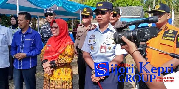 Wakil Bupati Natuna, Ngesti Yuni Suprapti, Ketua DPRD Natuna, Yusri Pandi dan FKPD Kabupaten Natuna