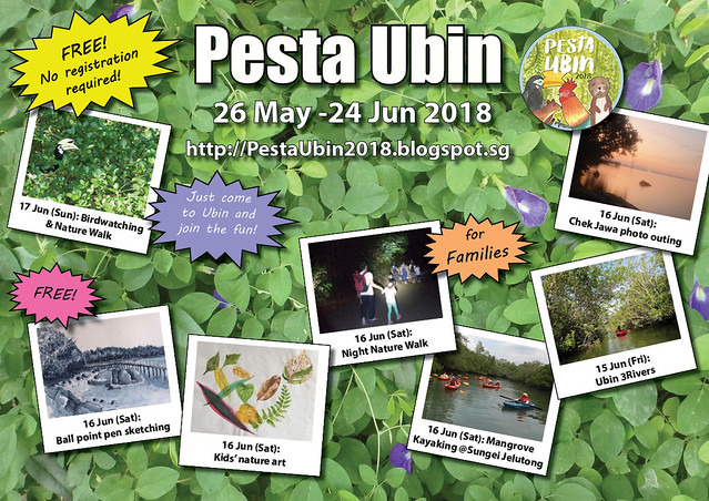 Pesta Ubin 2018: 11-17 June