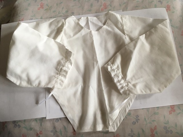 White Poet blouse for Dollshe boys 15