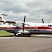 ATR ATR-42 F-WWEC Farnborough 2-9-86
