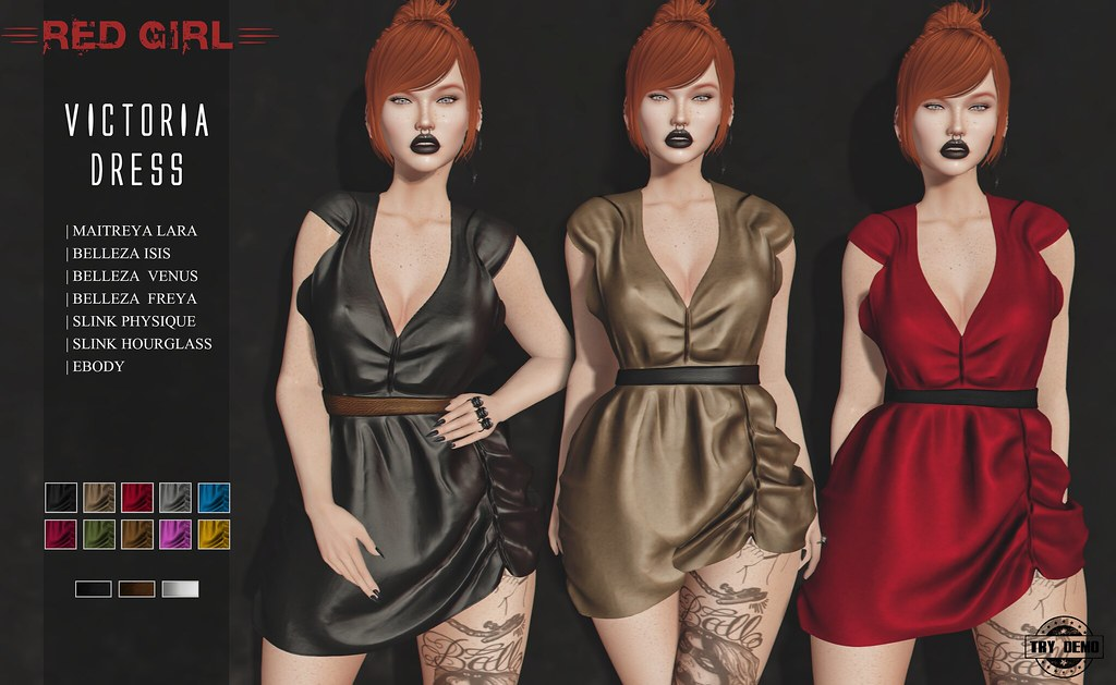 [RED GIRL] Victoria Dress – NEW!!!