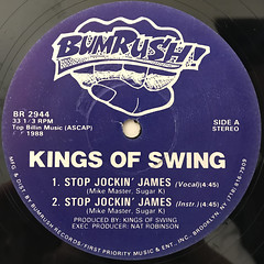 KINGS OF SWING:STOP JOCKIN' JAMES(LABEL SIDE-A)