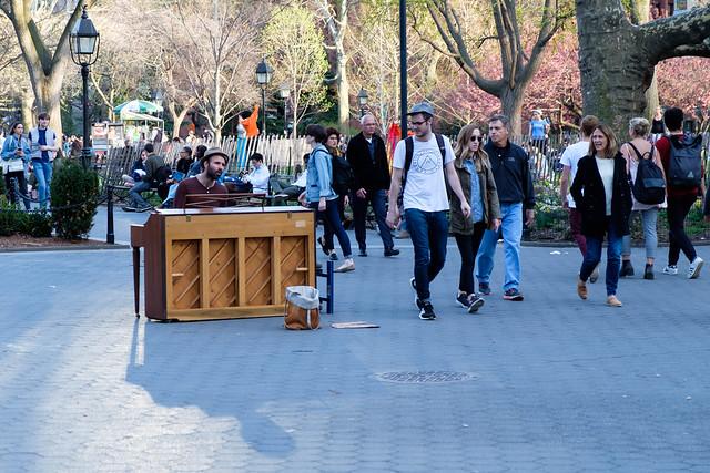 Washington Square Park, NYC, Fujifilm X-T2, XF18-55mmF2.8-4 R LM OIS