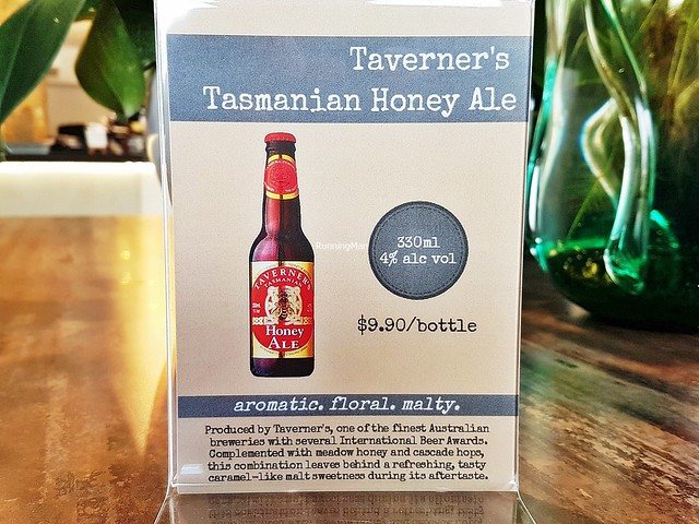 Beer Taverner's Honey Ale Ad