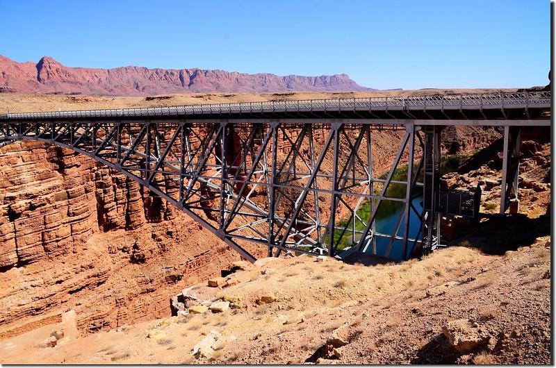 The second  Navajo Bridge
