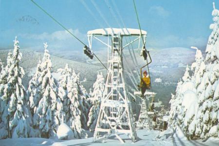 70 let lanové dopravy ze Špindlerova Mlýna na Pláň