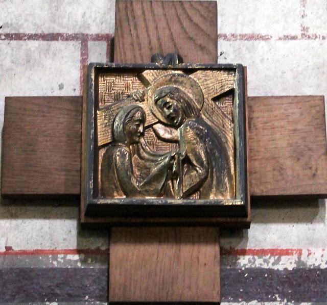 Véronique dans l'église Saint Martin de Thuret (63)