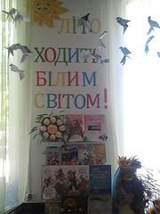 Книжково-ілюстративна виставка «Літо ходить білим світом!». 07.06.18. №123