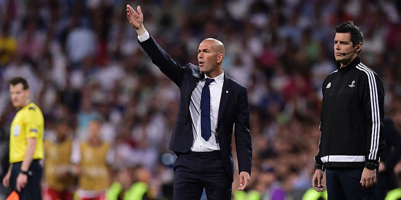 Zinedine Zidane Main-mainlah Ke Premier League Real Madrid