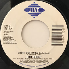 TOO SHORT:SHORT BUT FUNKY(LABEL SIDE-B)