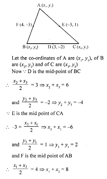 10th Maths Solution Book Pdf Chapter 14 Co-Ordinate Geometry