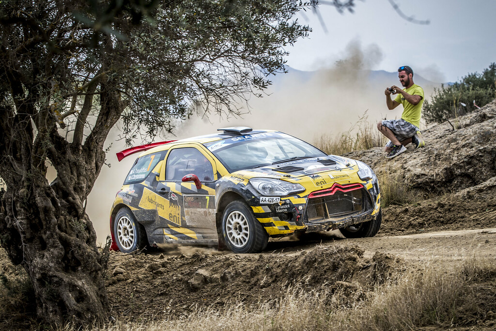 07 TSOULOFTAS Alexandros (CYP), CHRYSOSTOMOU Antonis (CYP), ALEXANDROS TSOULOFTAS, CITROEN DS3 R5, action during the 2018 European Rally Championship ERC Cyprus Rally,  from june 15 to 17  at Larnaca, Cyprus - Photo Gregory Lenormand / DPPI