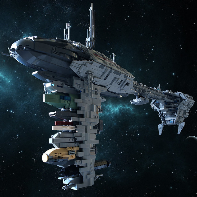 Nebulon-B Medical Frigate