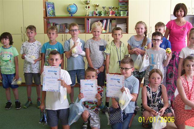 Nasi uczniowie w XVI Fordońskim Turnieju Warcabowym
