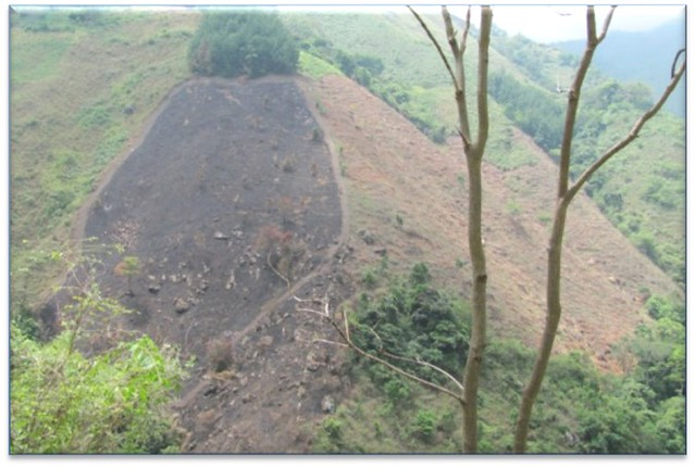 Problemática ambiental identificada en la cuenca el río las ceibas