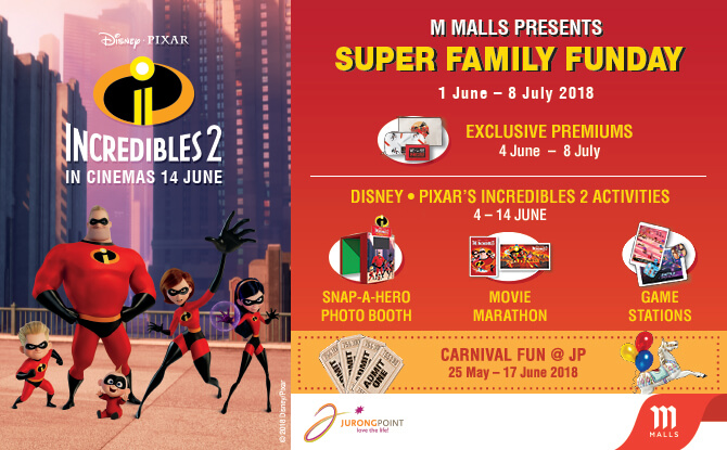 M Malls Incredibles 2