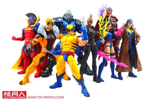 全球最速開箱!變種人全面開戰、經典要角隆重回歸!孩之寶漫威傳奇系列「X戰警」 開箱報告